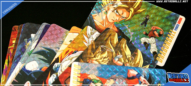 Dragon ball z card seg 10 cards special part .1